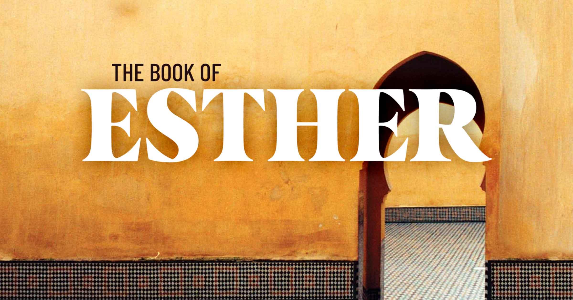 PV Bible Church -- Book of Esther sermon series alt